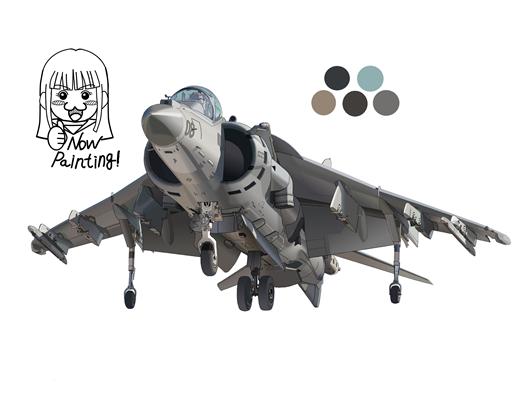 AV-8B 塗り005-05