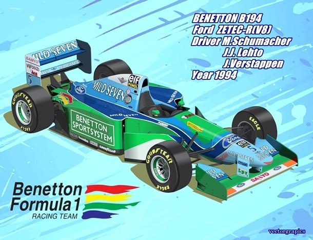 BENETTON B194 完成001-03