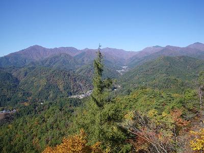 滝子山から続く山
