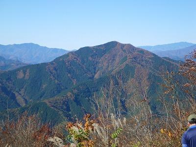 御前山の紅葉