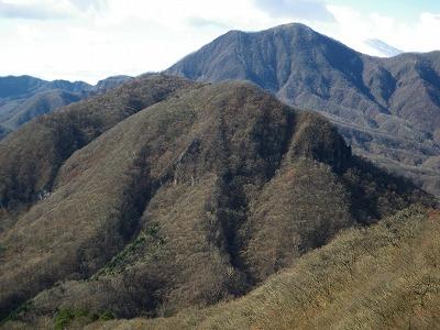 竜ヶ岳と浅間隠山