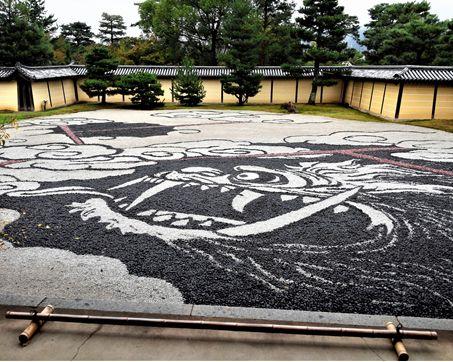 ⑥庭園の龍京都市大覚寺