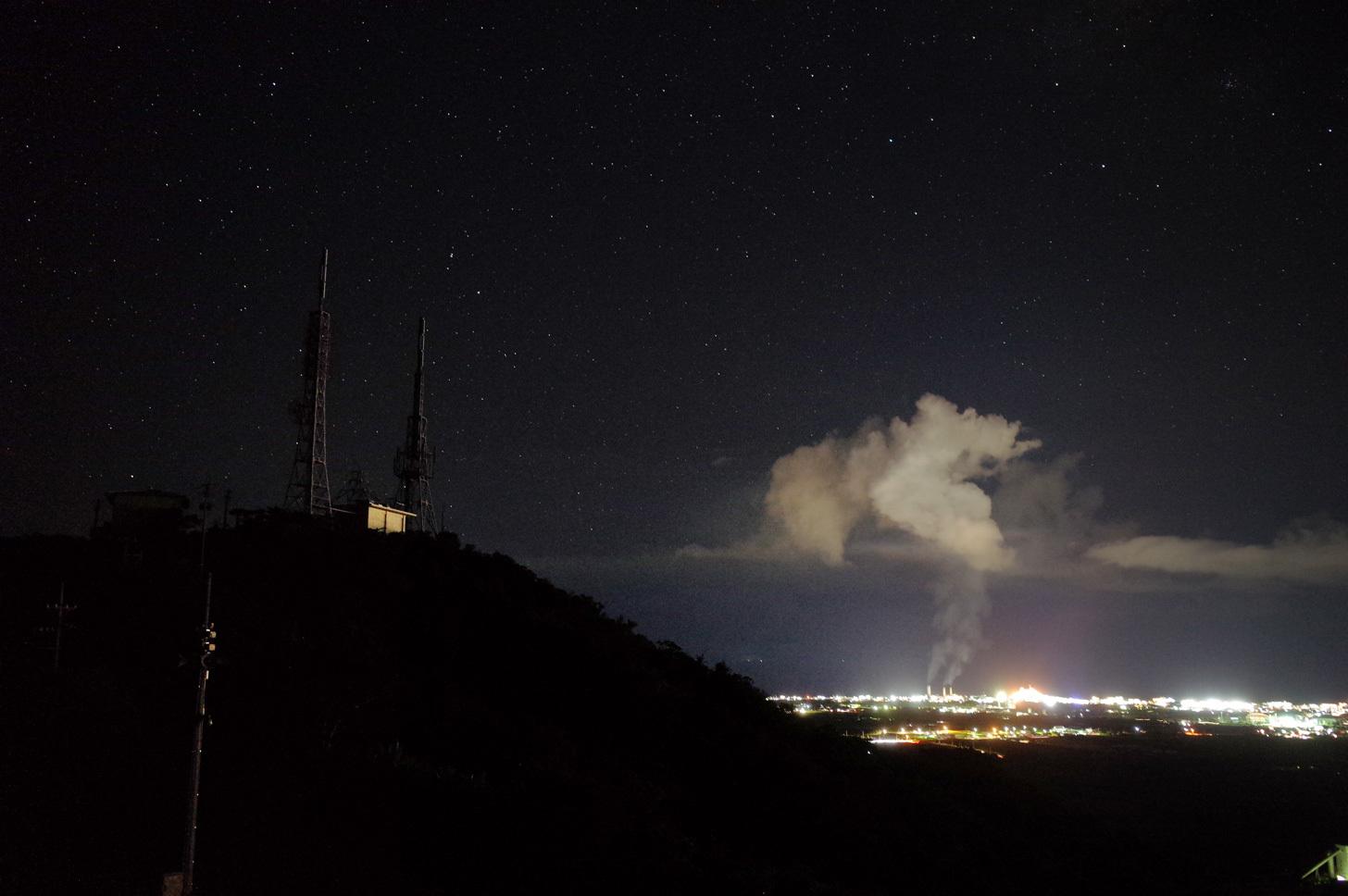 石垣島の夜景