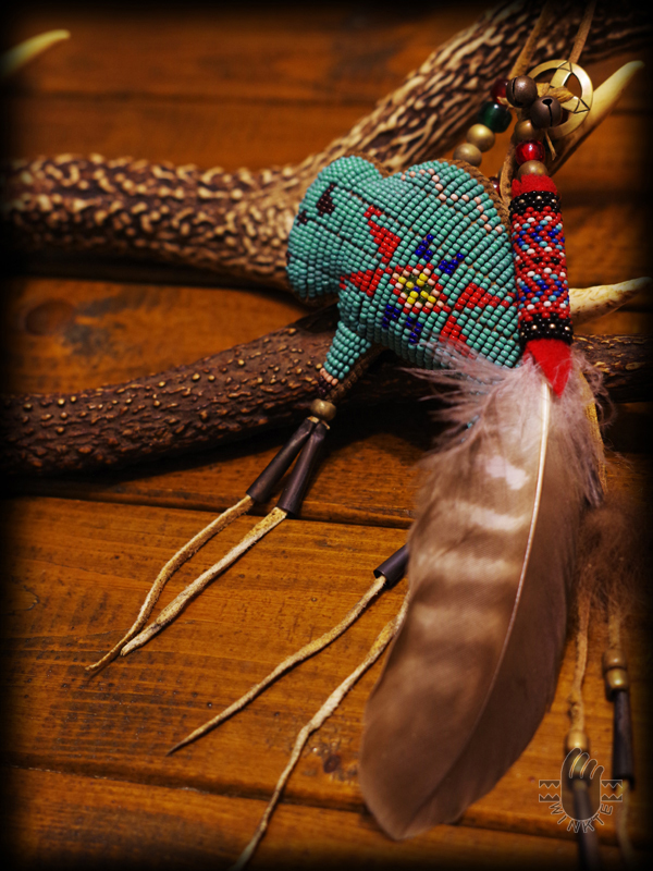 Tany Beaded Buffalo Amulet 6 logo ver