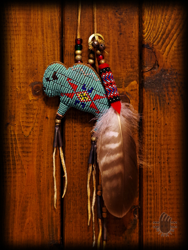 Tany Beaded Buffalo Amulet 2 logo ver