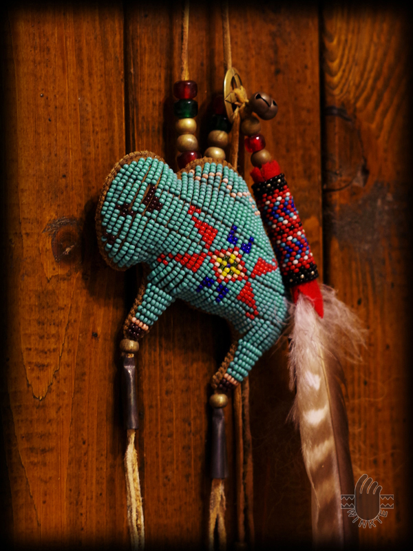 Tany Beaded Buffalo Amulet 3 logo ver
