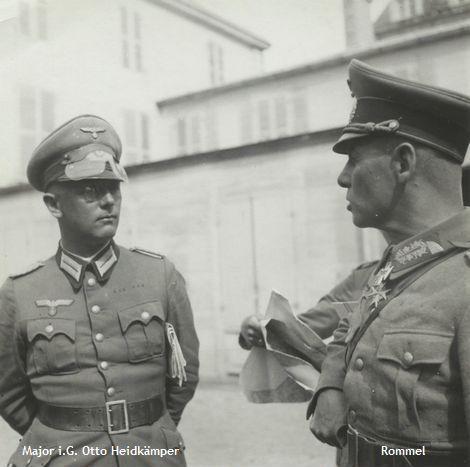 Rommel und Otto Heidkämper