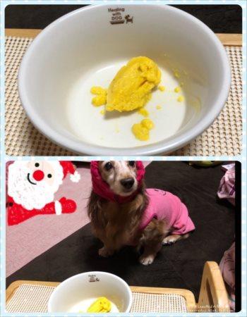 2017/12/15かぼちゃプリン1