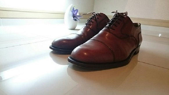 20年使用した革靴①
