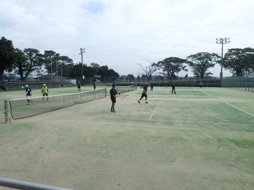 鹿屋クラブ40周年記念テニス大会