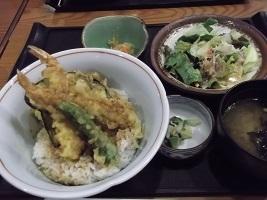 藍屋天丼2017.9