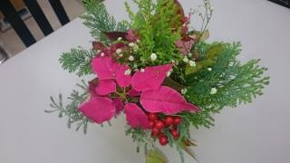 事務所用にアレンジした花