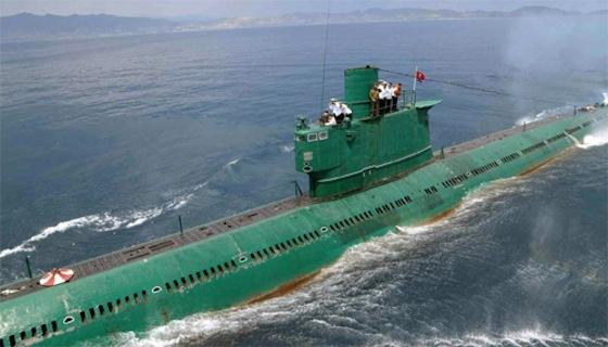 北朝鮮潜水艦001