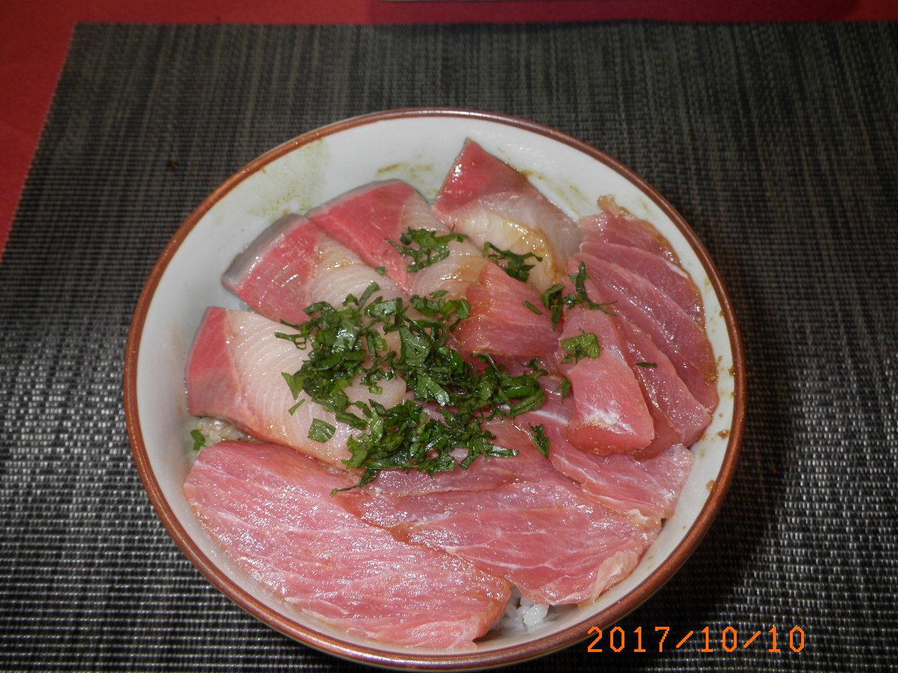サケマグロ丼61