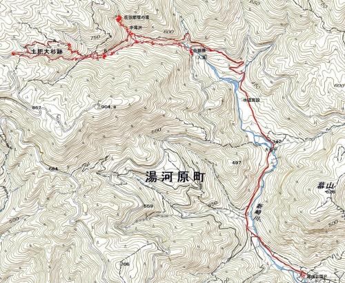 新埼川軌跡