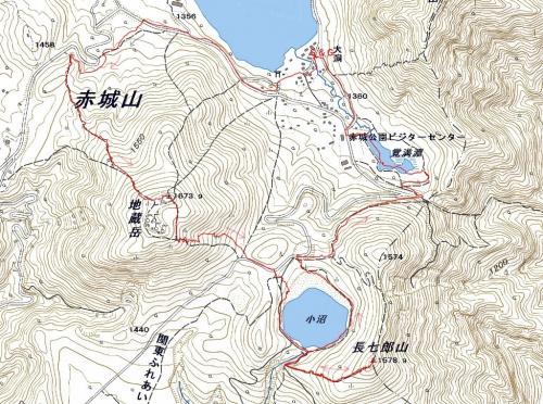 171220 地蔵岳軌跡