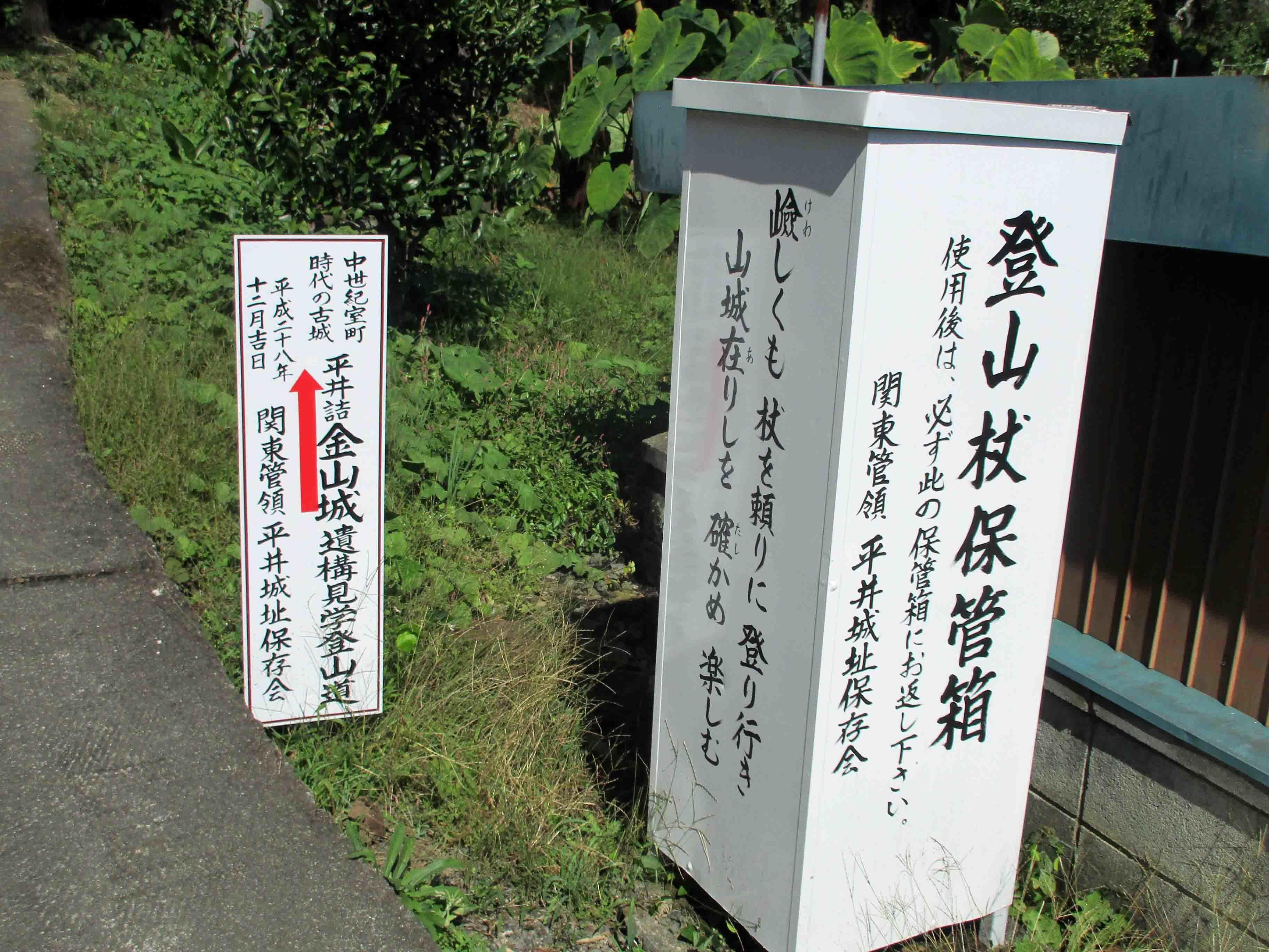 平井金山 レンタル杖