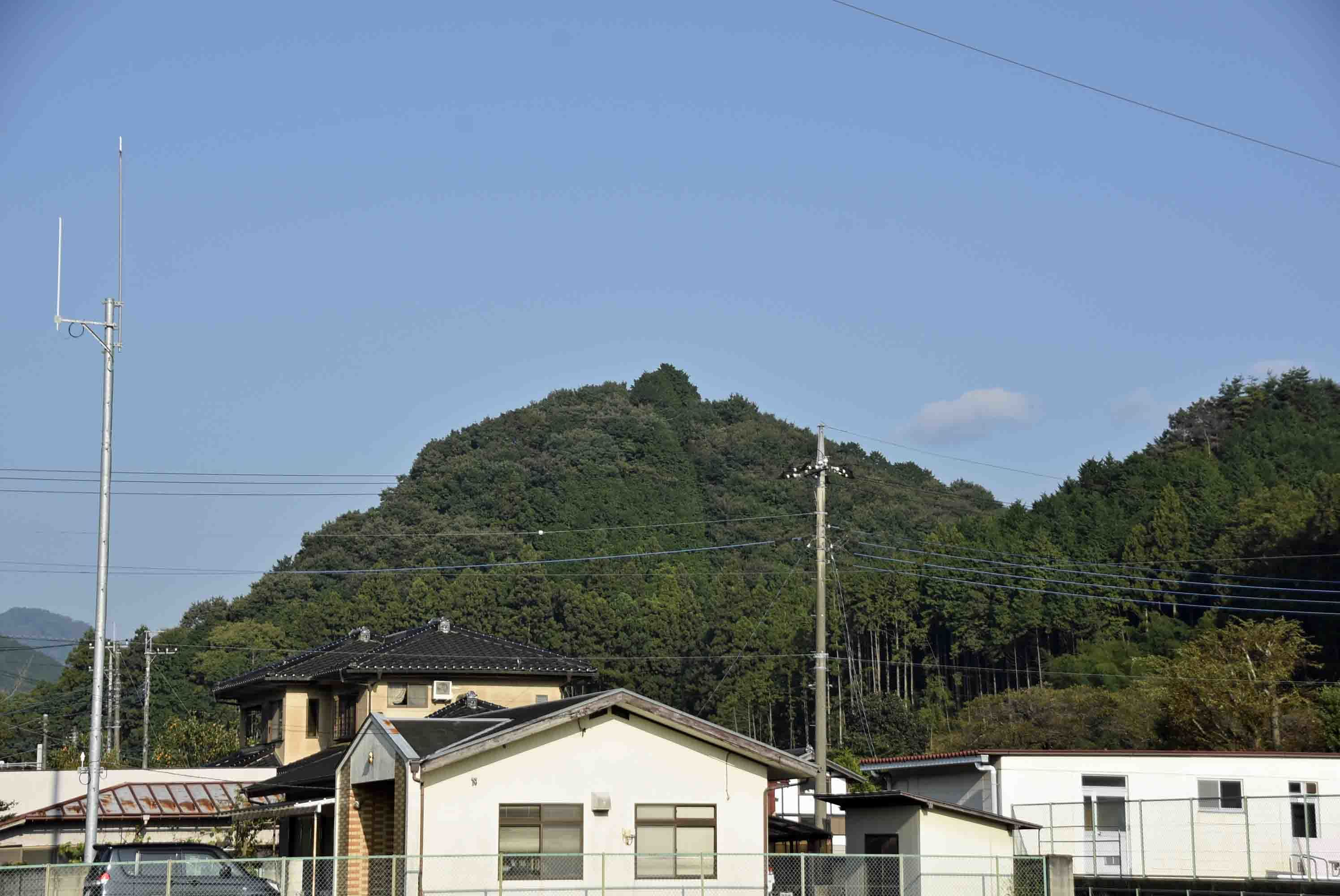 大塚城 遠景