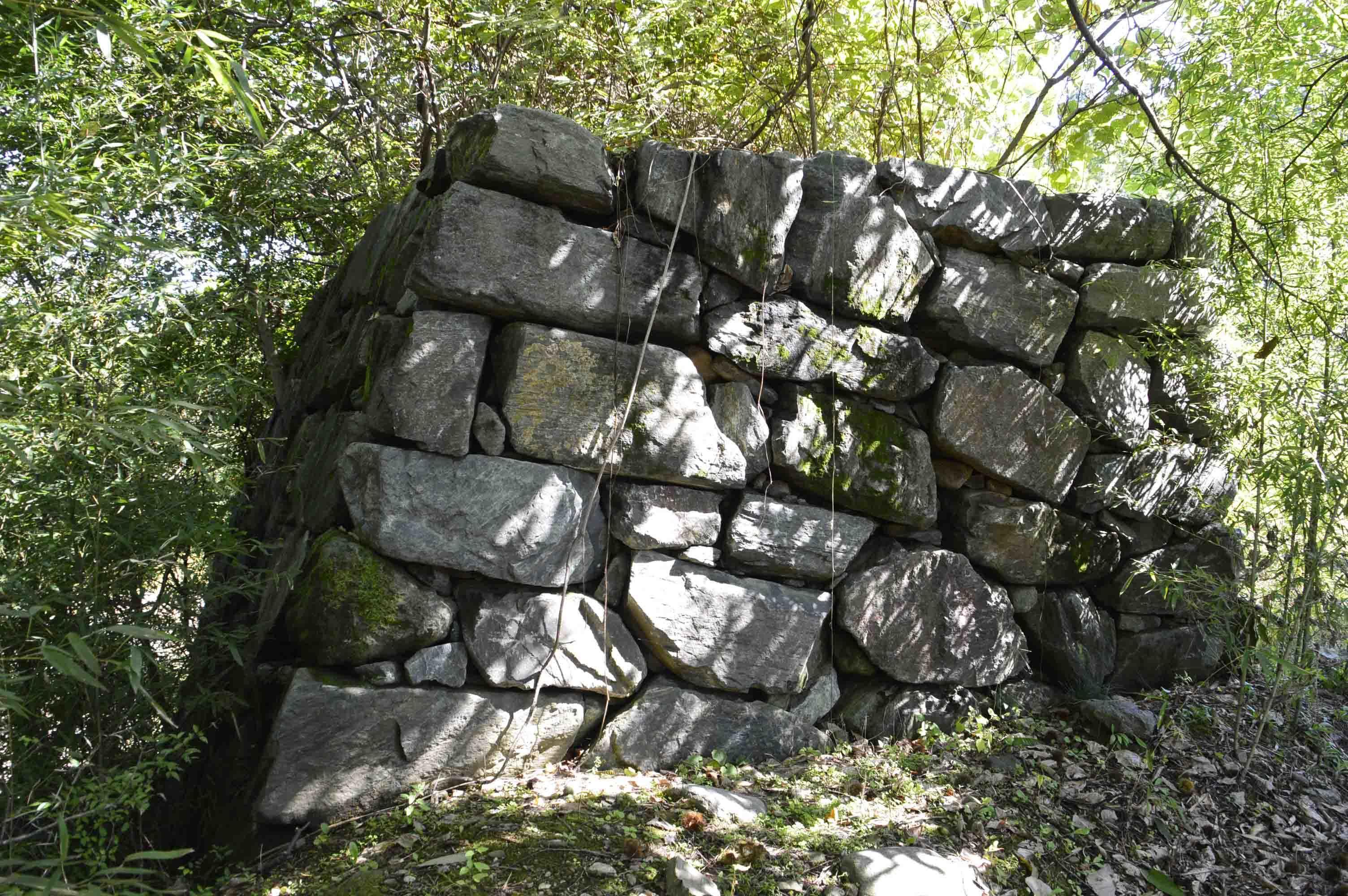 百閒築地 模擬石垣