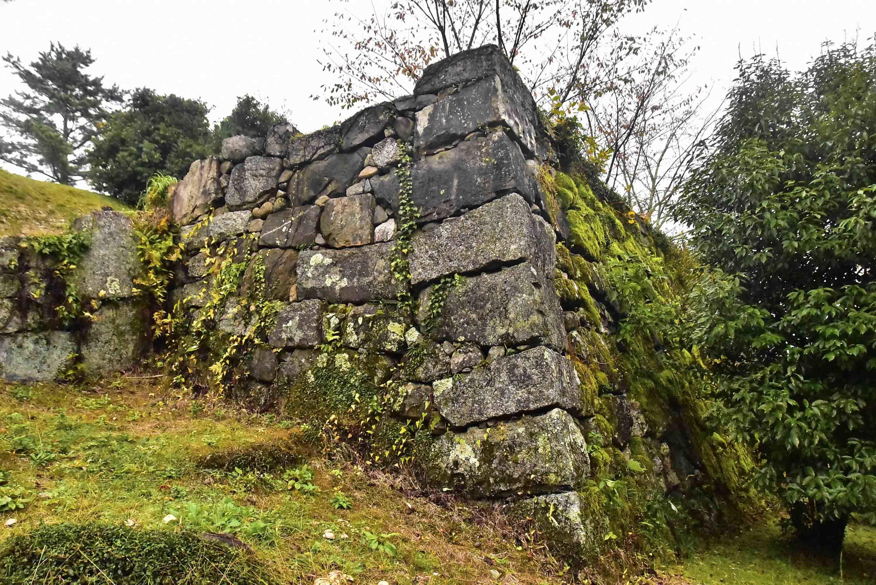 伊賀上野 城代屋敷の石垣
