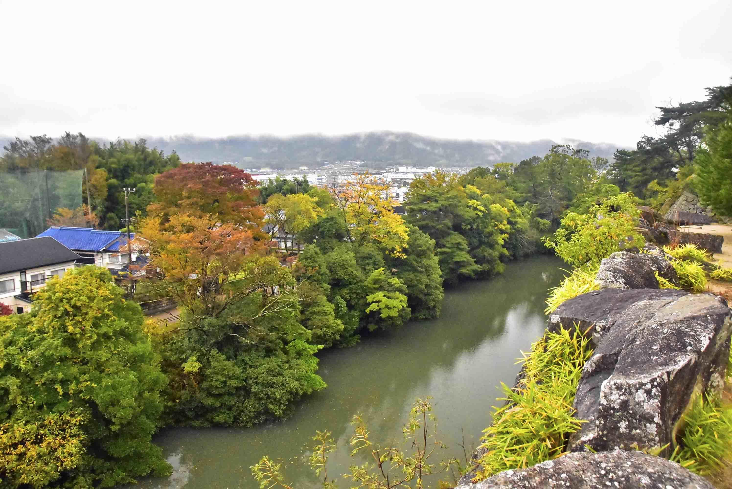 伊賀上野 内堀