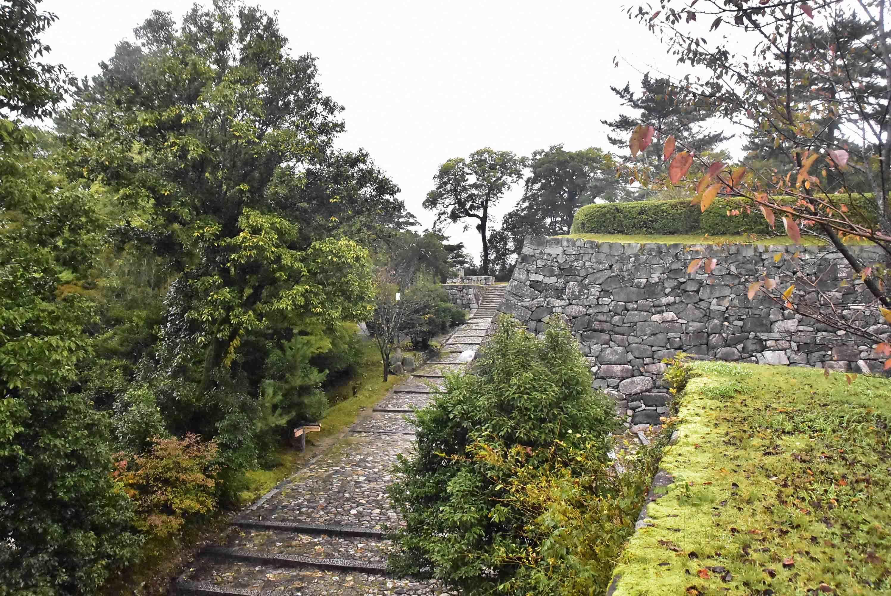 伊賀上野 筒井氏時代の石垣