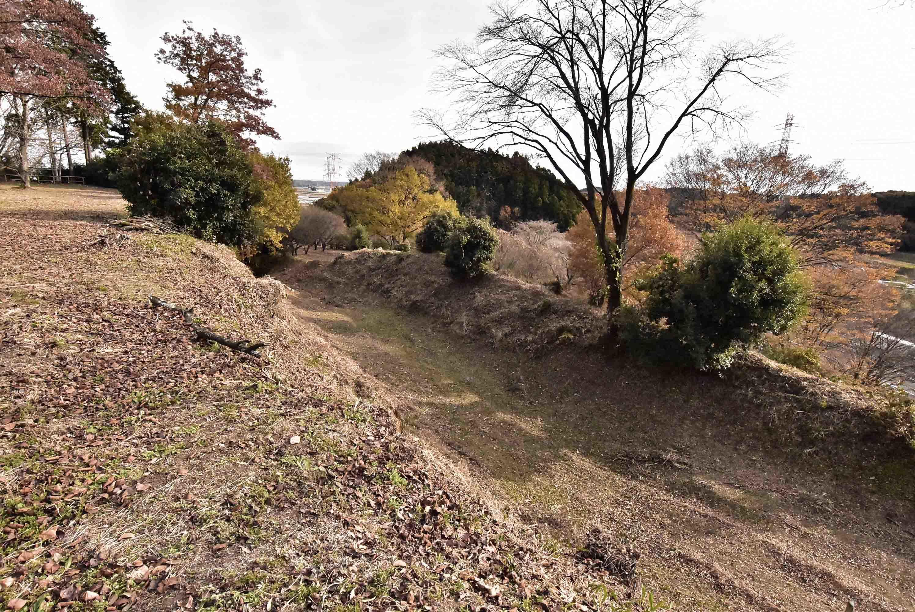 川崎城 一の堀
