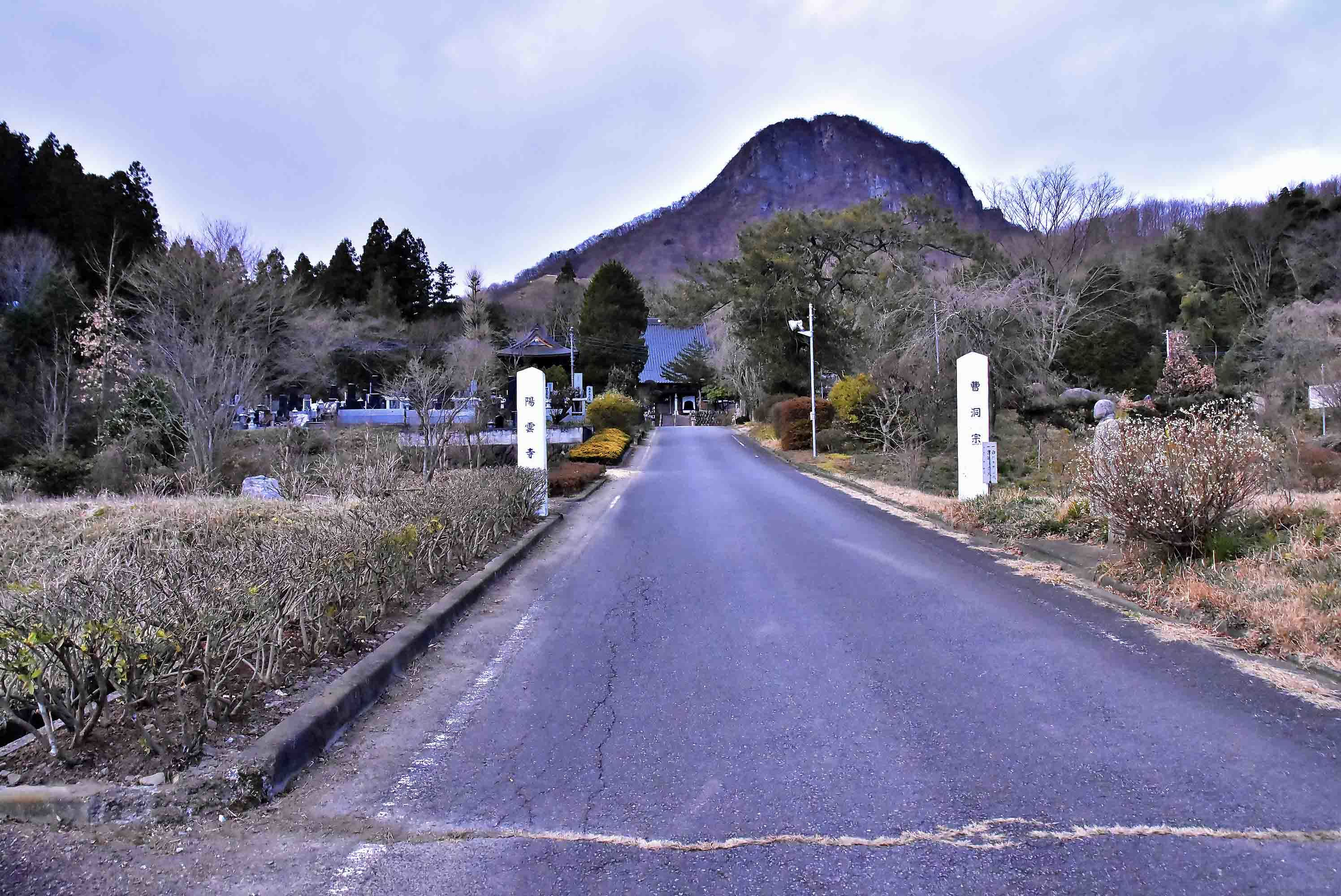 金鶏山麓の陽雲寺