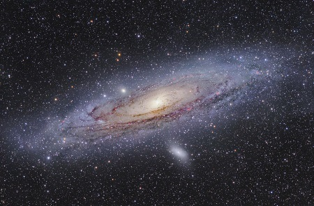アンドロメダ銀河サイズ