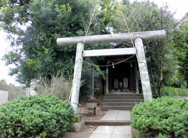 庚申塚溝合神社