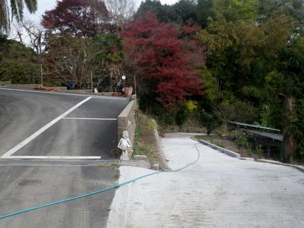 上と下の道路合流