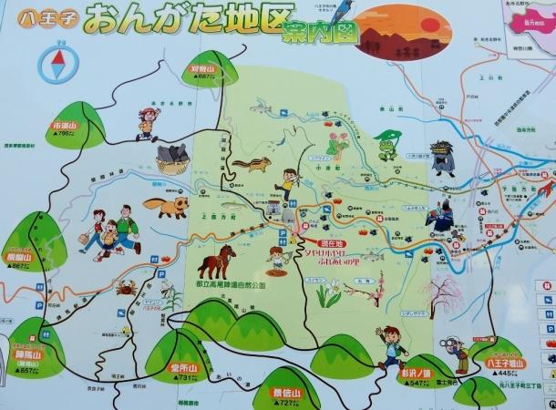 おんがた地区マップ
