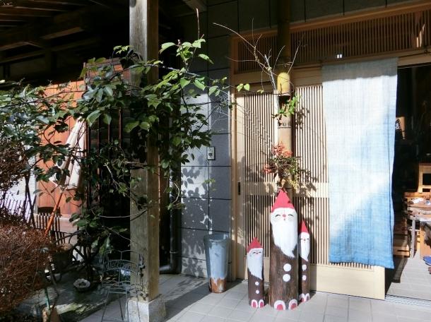 森のアトリエ玄関