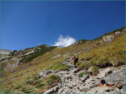065 稜線へ