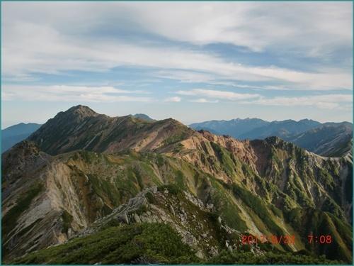 092 水晶岳へ