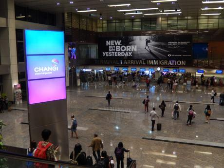 シンガポール2017.5チャンギ空港
