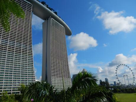 シンガポール2017.5マリーナベイ