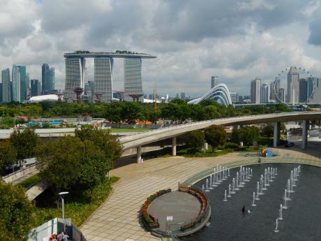 シンガポール2017.5マリーナバラージ