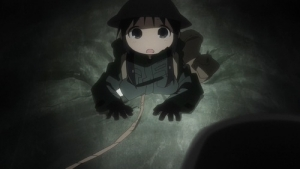『少女終末旅行』第7話感想・・・下手したら死ぬような場所を歩く勇気がしゅごい・・・ 歩いてレーション作っただけだけど面白い!