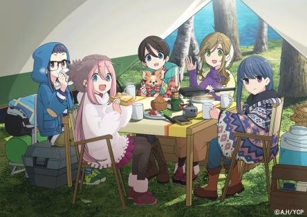 【朗報】『ゆるキャン△』イベントでアニメ2期決定が発表される!!!うおおおおおおおおおお