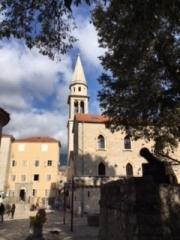モンテネグロの教会
