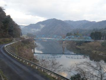 2017年12月20日撮影 三江線車窓風景