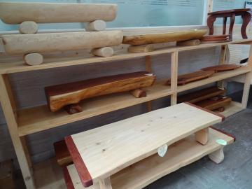 2018年7月3日 正南津ひのきの森 木工製品