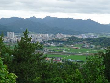 2018年7月3日 正南津ひのきの森からの眺め