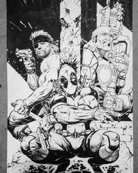 Ryan Benjamin Deadpool 3 characters