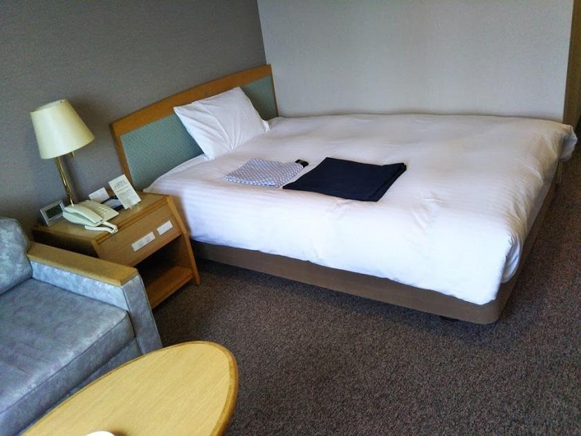 赤穂パークホテル ベッド