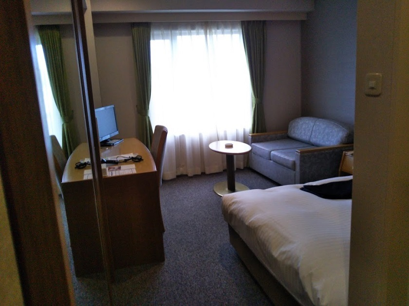 赤穂パークホテル シングルルーム1