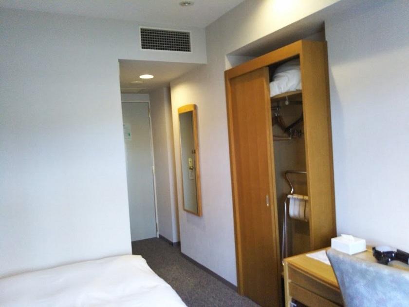 赤穂パークホテル シングルルーム2