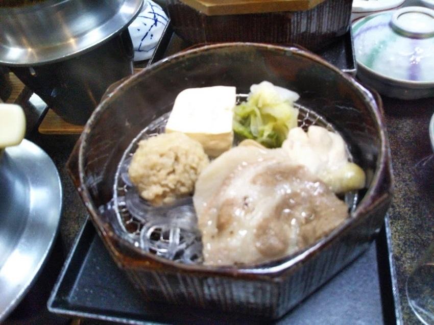 栄太郎 夕食料理 蒸し鍋