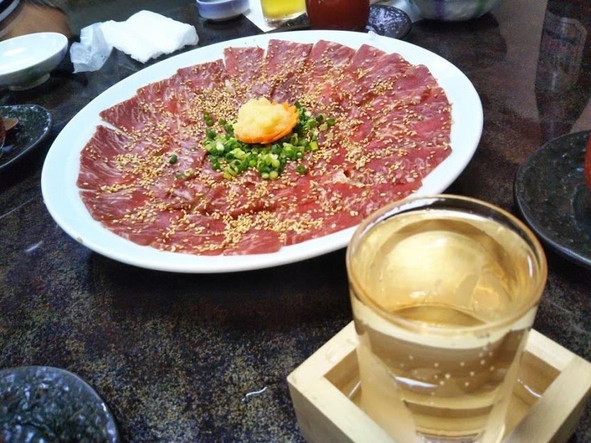 栄太郎 夕食料理 地酒冷酒と